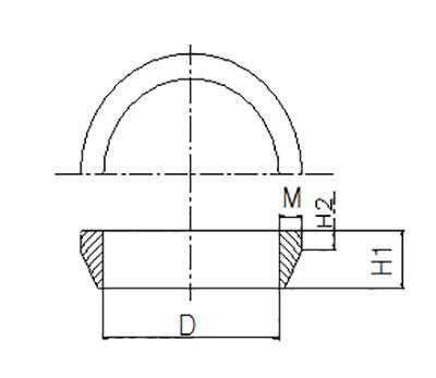 Rong Sheng Long Rubber Seals-Flange Adapter Rubber Ring | Rubber Gasket For Pipe Flange | Flange Ada