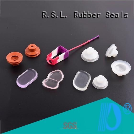 Silicone gaskets silicone for industry Rong Sheng Long Rubber Seals