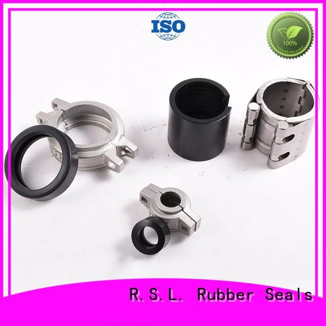 Stainless Steel Flexible Rubber Half Coupling Connector Clamp Pipe Fitting
