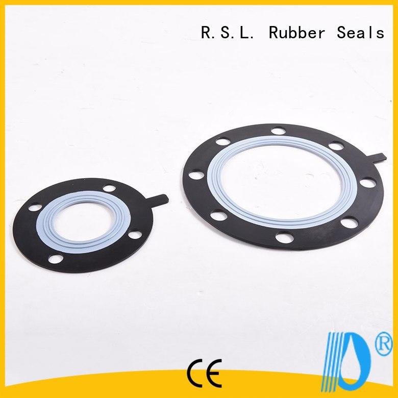 ptfe rubber pipe seal design for industry Rong Sheng Long Rubber Seals