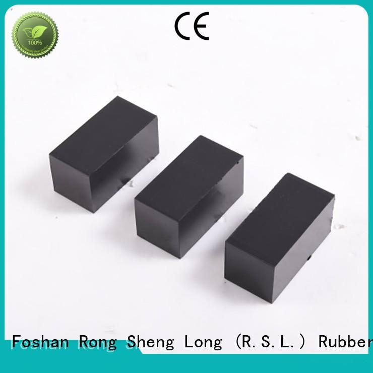 shock anti vibration mat factory for punch Rong Sheng Long Rubber Seals