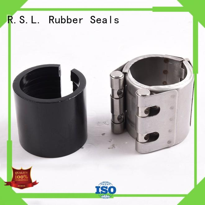 Stainless grip pipe flexible coupling