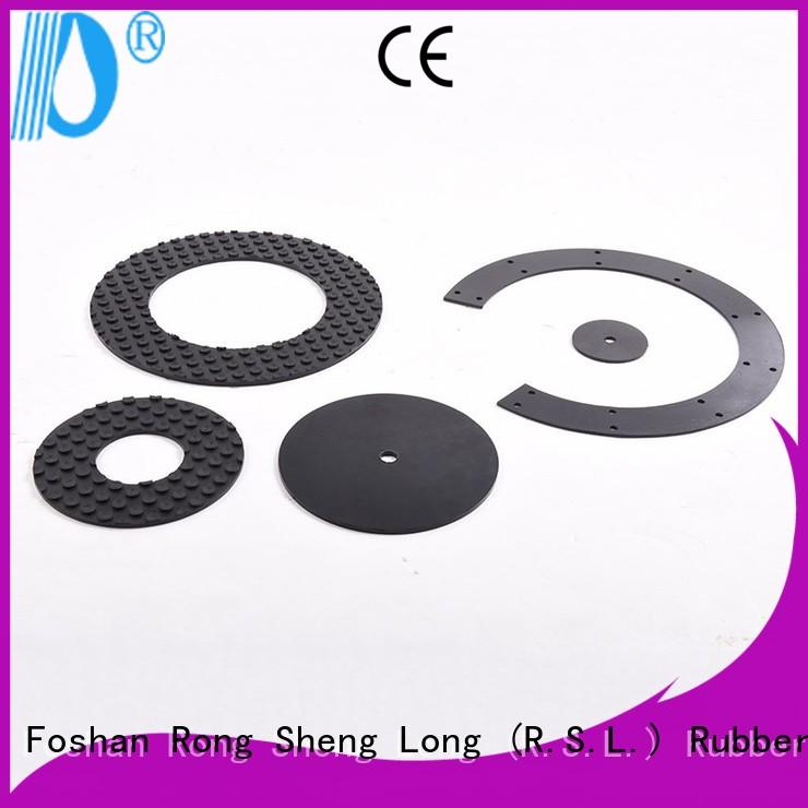 Rong Sheng Long Rubber Seals buffers Rubber cushion factory for printing machinery