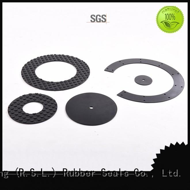 Rong Sheng Long Rubber Seals pad damping pads factory for printing machinery