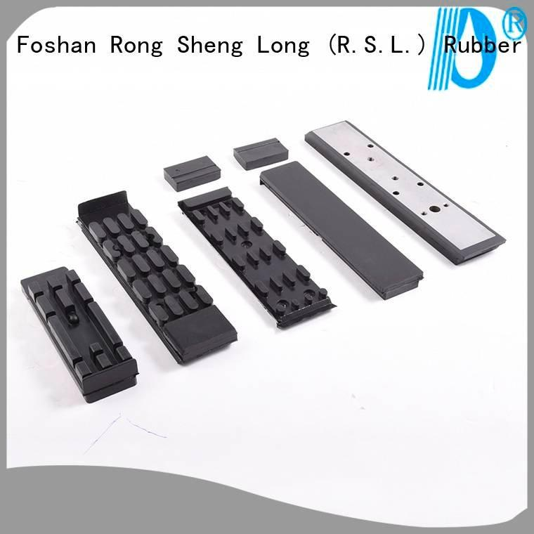 base steel Rong Sheng Long Rubber Seals Rubber conveyor chains with