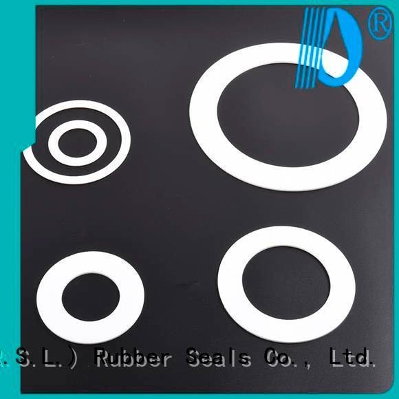 gaskets seals ptfe envelope gaskets manufacturers ptfe Rong Sheng Long Rubber Seals